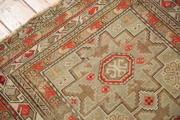 Antique Caucasian Square Rug / Item 6522 image 9