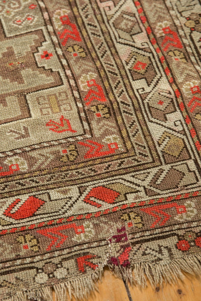 Antique Caucasian Square Rug / Item 6522 image 10