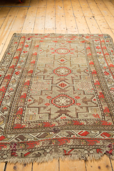 Antique Caucasian Square Rug / Item 6522 image 11