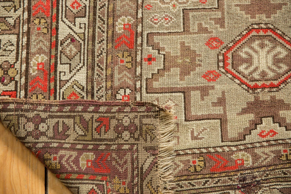 Antique Caucasian Square Rug / Item 6522 image 12