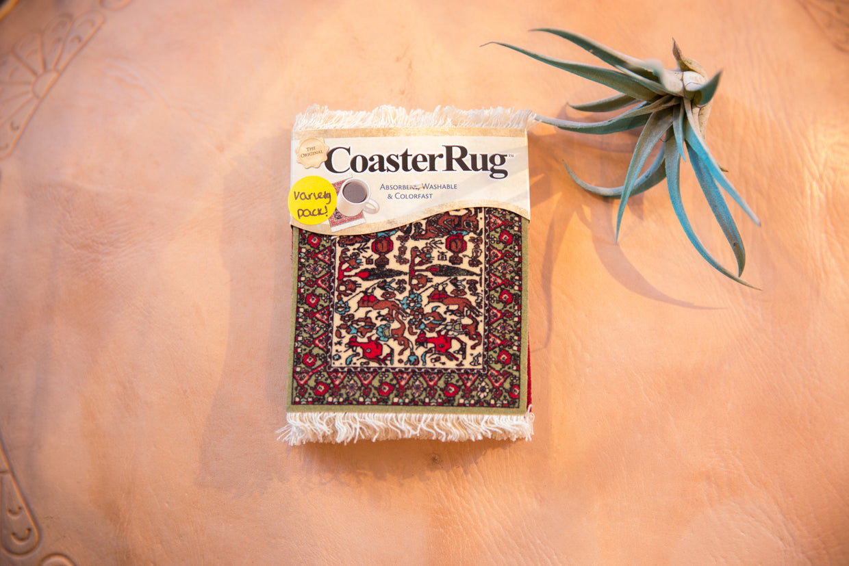 International Variety Pack Rug Coasters // ONH Item 6546