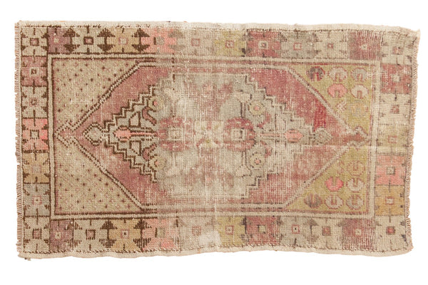 Vintage Distressed Oushak Rug / ONH item 6566