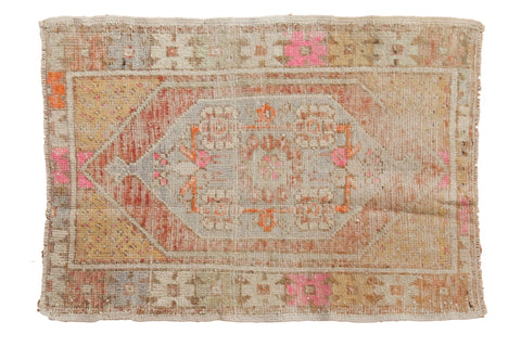 Vintage Distressed Oushak Rug / ONH item 6568