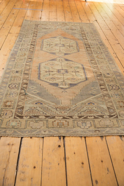 Vintage Distressed Oushak Rug Runner / ONH item 6571 Image 4