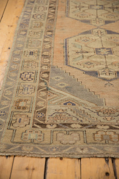 Vintage Distressed Oushak Rug Runner / ONH item 6571 Image 5
