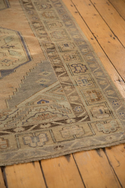 Vintage Distressed Oushak Rug Runner / ONH item 6571 Image 6
