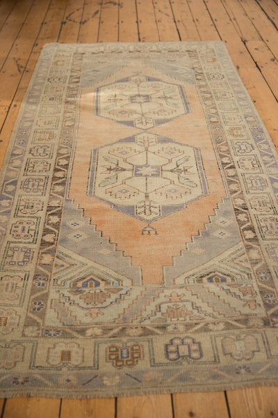 Vintage Distressed Oushak Rug Runner / ONH item 6571 Image 7