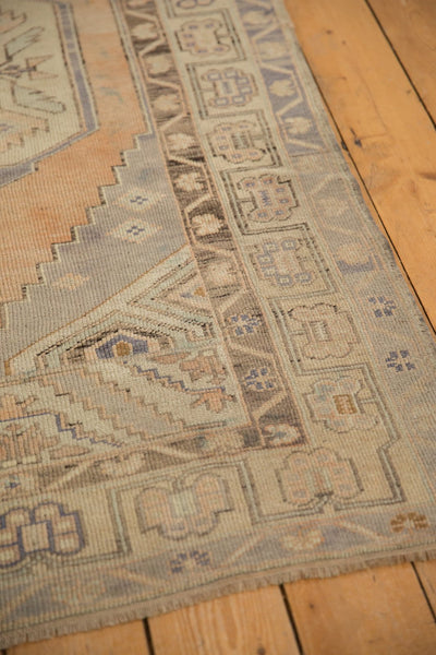 Vintage Distressed Oushak Rug Runner / ONH item 6571 Image 9