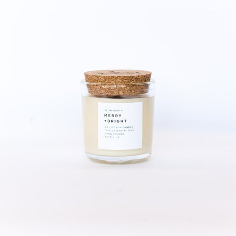Merry + Bright Slow North Soy Candle // ONH Item 6672