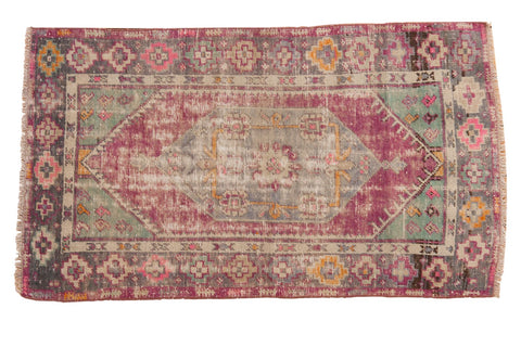 Vintage Distressed Oushak Rug / ONH item 6766