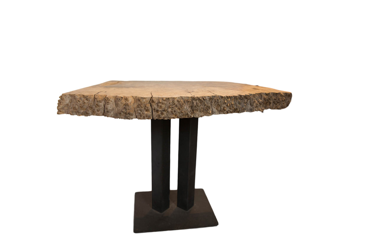 Small Live Edge Table // ONH Item 6774