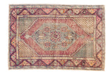 Vintage Distressed Oushak Rug / ONH Item 6778