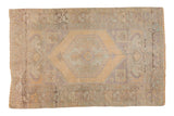 Vintage Distressed Oushak Rug / ONH item 6785