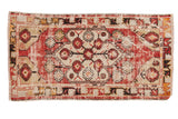 Vintage Distressed Oushak Rug Runner / ONH item 6787