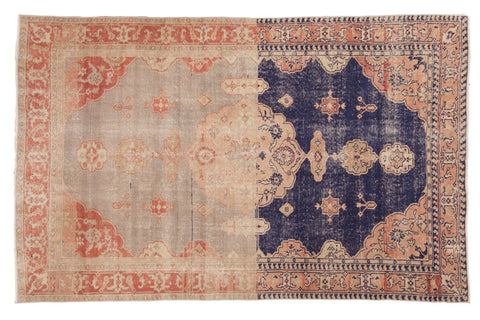 Vintage Distressed Sivas Rug / ONH item 6788
