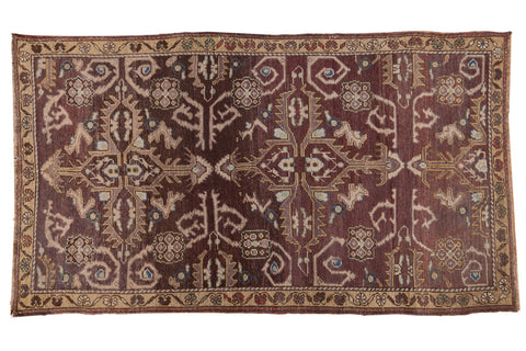 Vintage Distressed Oushak Rug / ONH item 6797