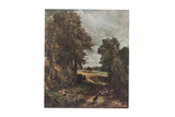 Vintage Print of Constable The Cornfield