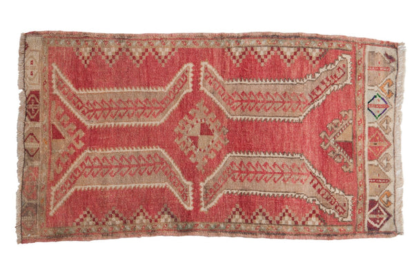 Vintage Distressed Oushak Rug / ONH item 6876