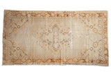 Vintage Distressed Oushak Rug Runner / ONH item 6913clear