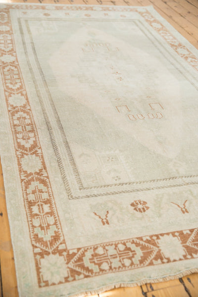 Image Vintage Distressed Oushak Carpet / ONH item 6916 Image 2