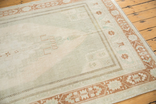 Image Vintage Distressed Oushak Carpet / ONH item 6916 Image 4