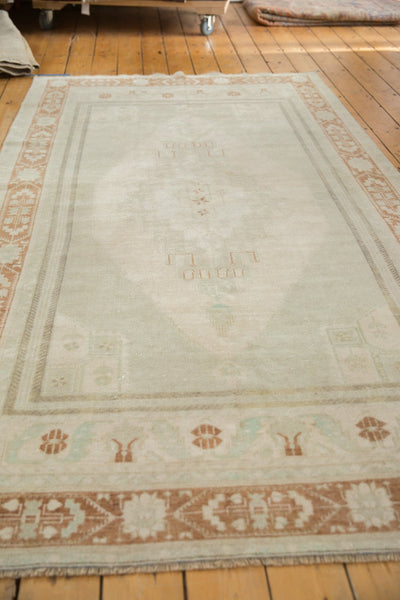 Image Vintage Distressed Oushak Carpet / ONH item 6916 Image 7