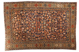 Vintage Heriz Carpet / ONH item 6934