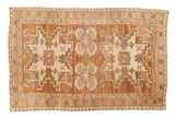 Vintage Distressed Oushak Rug / ONH item 6940