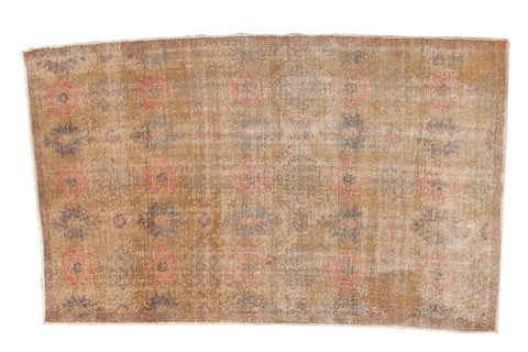 Vintage Distressed Oushak Rug / ONH item 6942
