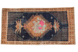 Vintage Distressed Oushak Rug / ONH item 6944