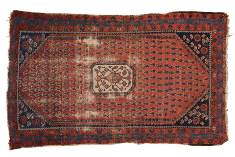 Antique Kurdish Hamadan Rug / ONH item 6965