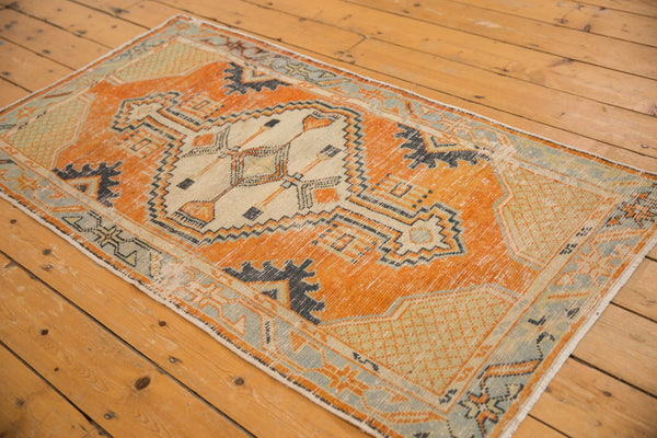 Vintage Distressed Oushak Rug Runner / ONH item 6979 Image 2