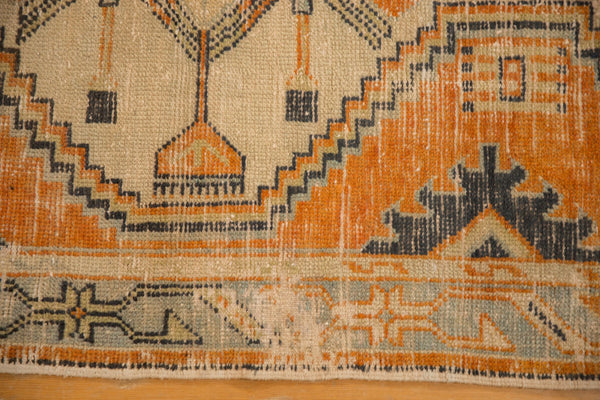 Vintage Distressed Oushak Rug Runner / ONH item 6979 Image 4