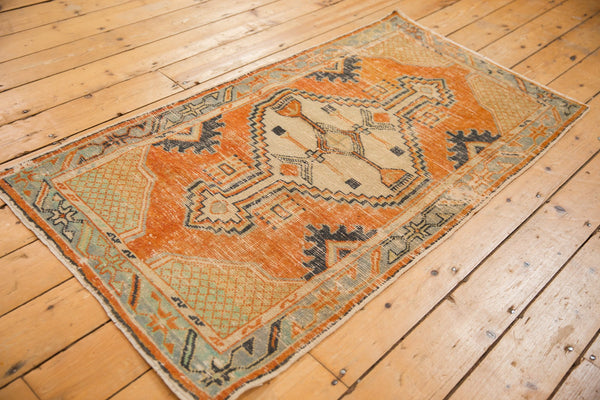 Vintage Distressed Oushak Rug Runner / ONH item 6979 Image 5