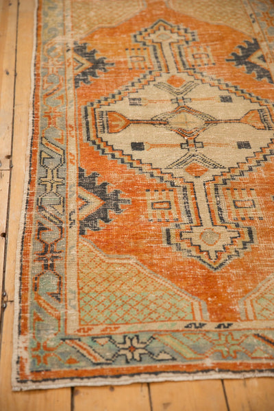Vintage Distressed Oushak Rug Runner / ONH item 6979 Image 7