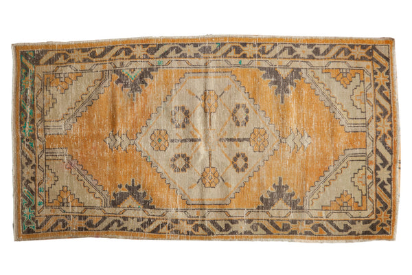 Vintage Distressed Oushak Rug / ONH item 6995