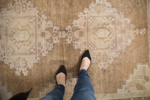 Vintage Distressed Oushak Carpet / ONH item 7016 Image 1