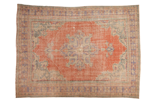 Vintage Distressed Oushak Carpet / ONH item 7021