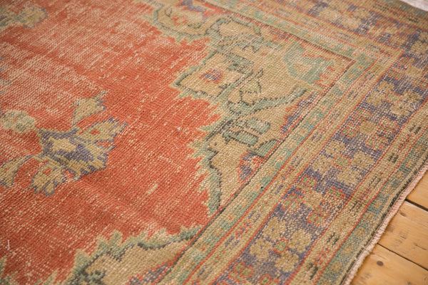 Vintage Distressed Oushak Carpet / ONH item 7021 Image 3