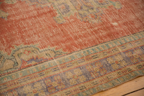 Vintage Distressed Oushak Carpet / ONH item 7021 Image 5