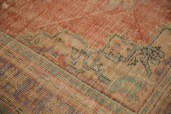 Vintage Distressed Oushak Carpet / ONH item 7021 Image 9