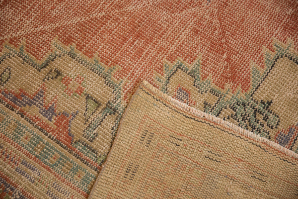 Vintage Distressed Oushak Carpet / ONH item 7021 Image 10