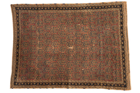 Antique Fine Afshar Rug / ONH item 7023