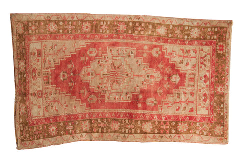 Vintage Distressed Oushak Rug / ONH item 7029
