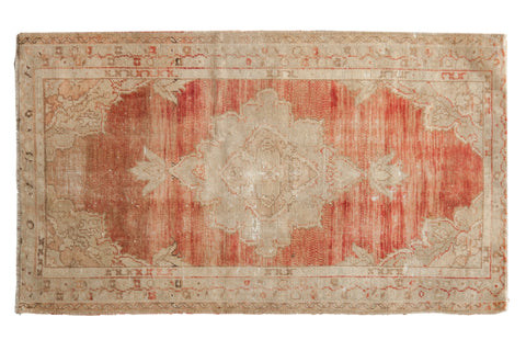 Vintage Distressed Oushak Rug / ONH item 7039