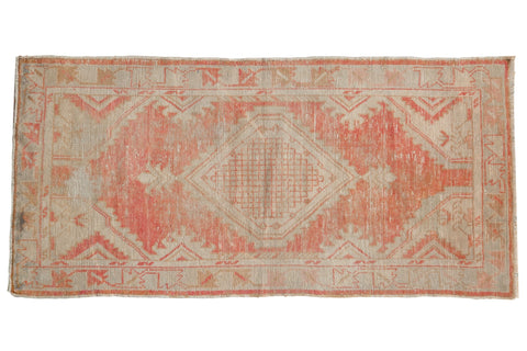 Vintage Distressed Oushak Rug Runner / ONH item 7041