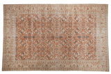 Vintage Distressed Sivas Carpet / ONH item 7071clear