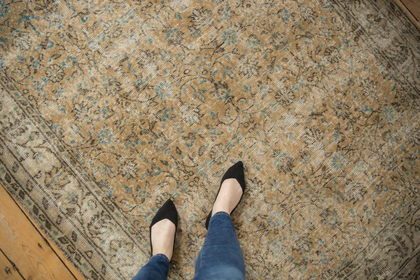 Vintage Distressed Oushak Carpet / ONH item 7086 Image 1