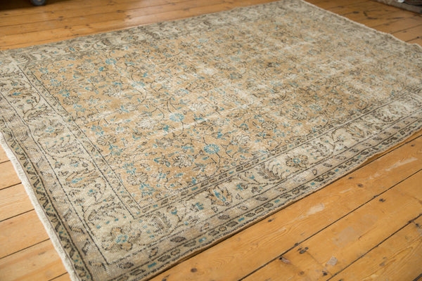 Vintage Distressed Oushak Carpet / ONH item 7086 Image 2