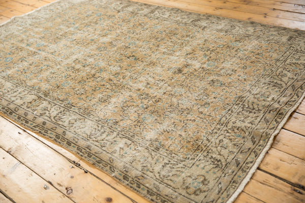 Vintage Distressed Oushak Carpet / ONH item 7086 Image 4